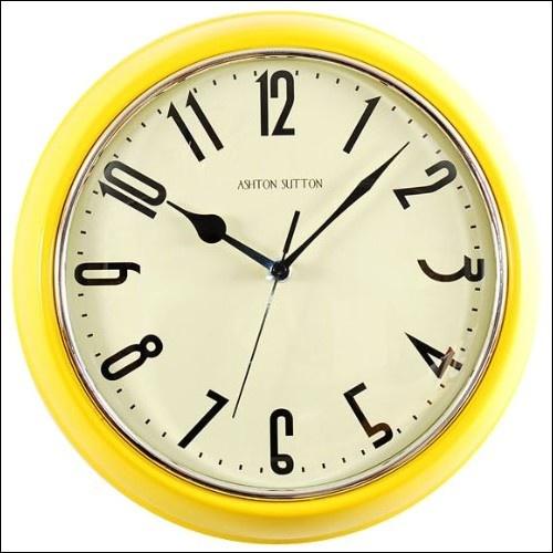 Kitchen Wall Clock Decor Ideas best 25+ yellow clocks ideas on pinterest | scandinavian wall