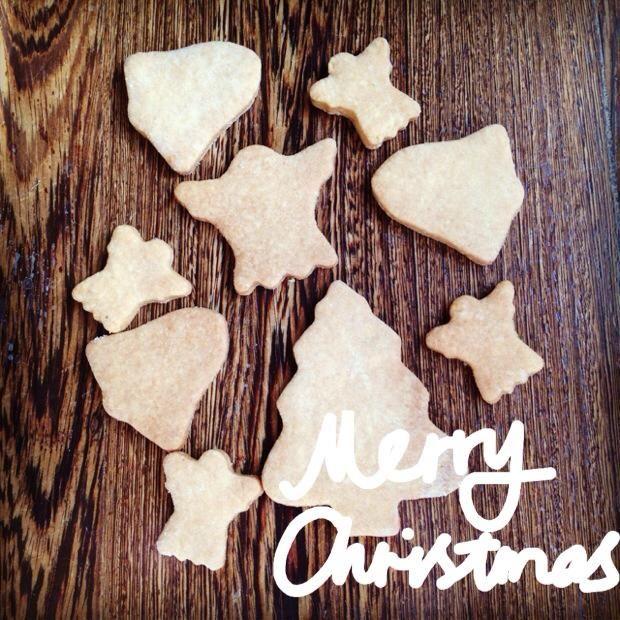 Merry Christmas cookies.
