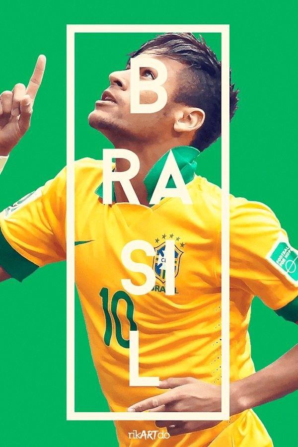 これはカッコ良すぎるW杯。タイポグラフィが美しいもう1つのW杯2014ポスター – FIFA World Cup 2014 Posters   STYLE4 Design   Antenna(アンテナ)