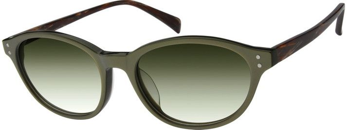 A86063 Sunglasses olive green awesome
