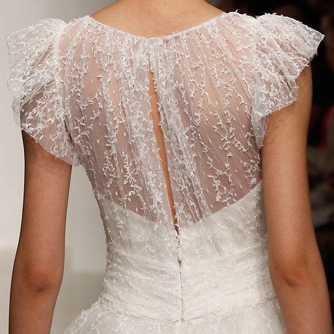 Wedding Dress Detail: Meadow, Christos.