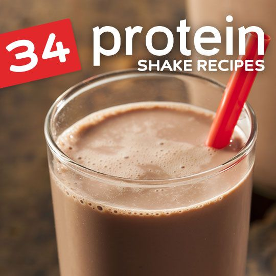 The best homemade protein shakes for after workout snacks, refueling and meal replacement…