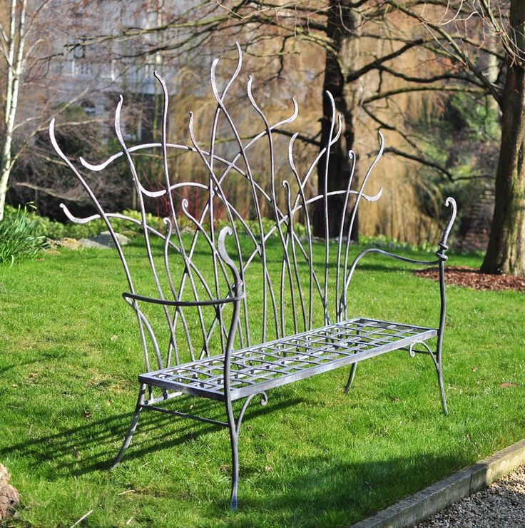 Sculpture And Garden Art Artistic Metal Furniture And