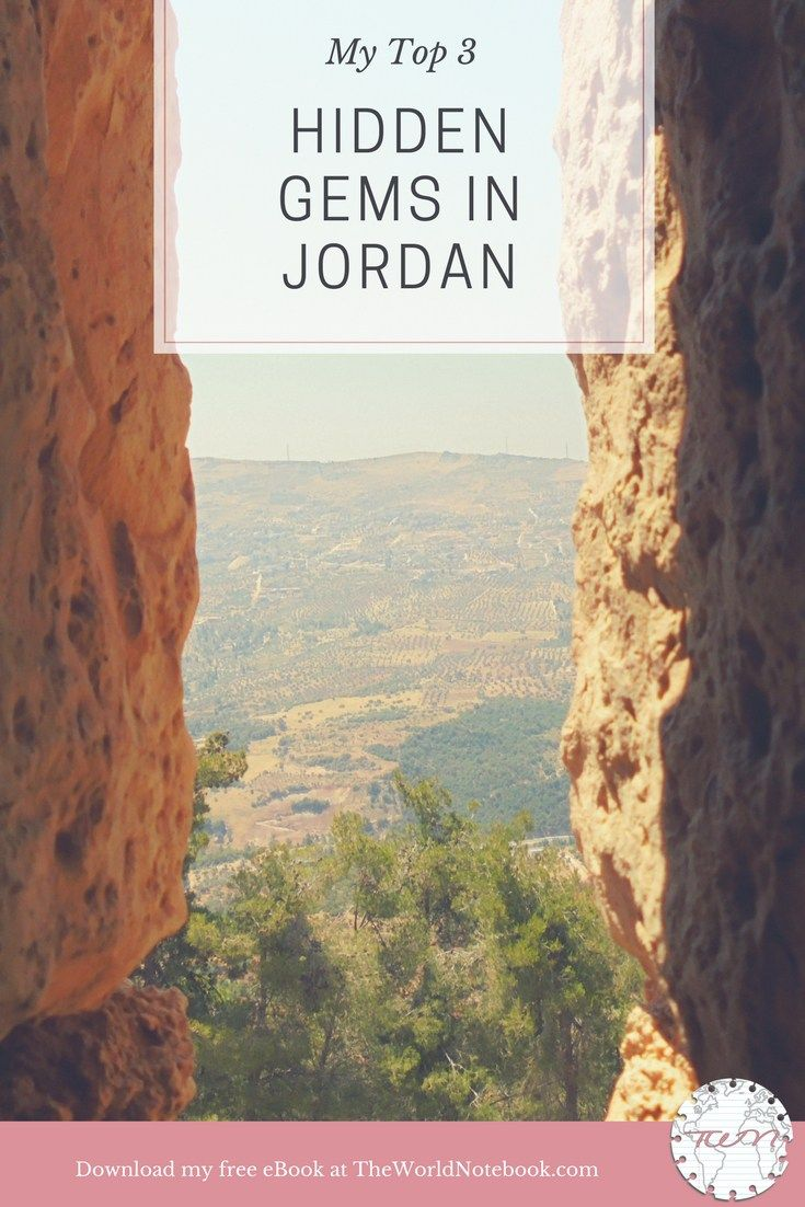 My Top 3: Hidden Gems in Jordan. Want to walk off the beaten path? Explore three of my favorite spots as you discover Jordan on The World Notebook. Subscribe and download my free eBook.
