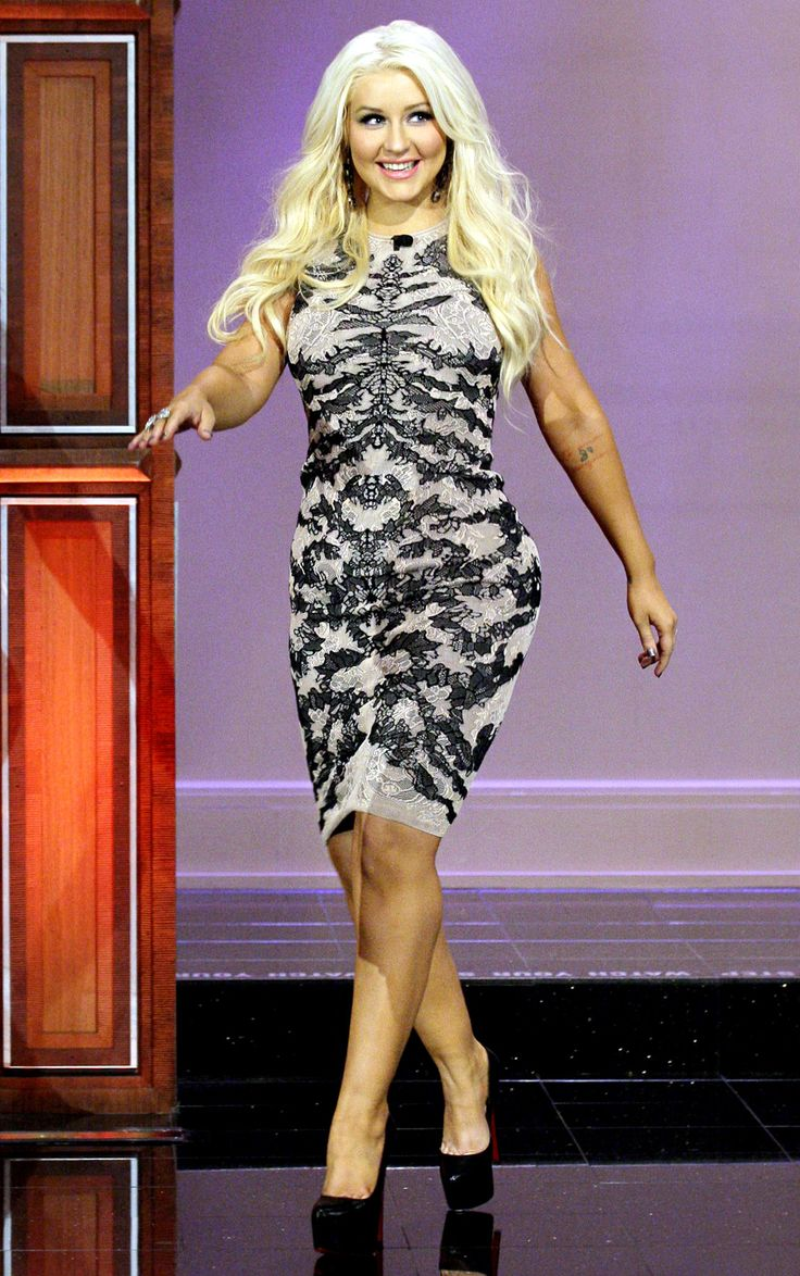 Christina Aguilera S Body Evolution Dresses Christina