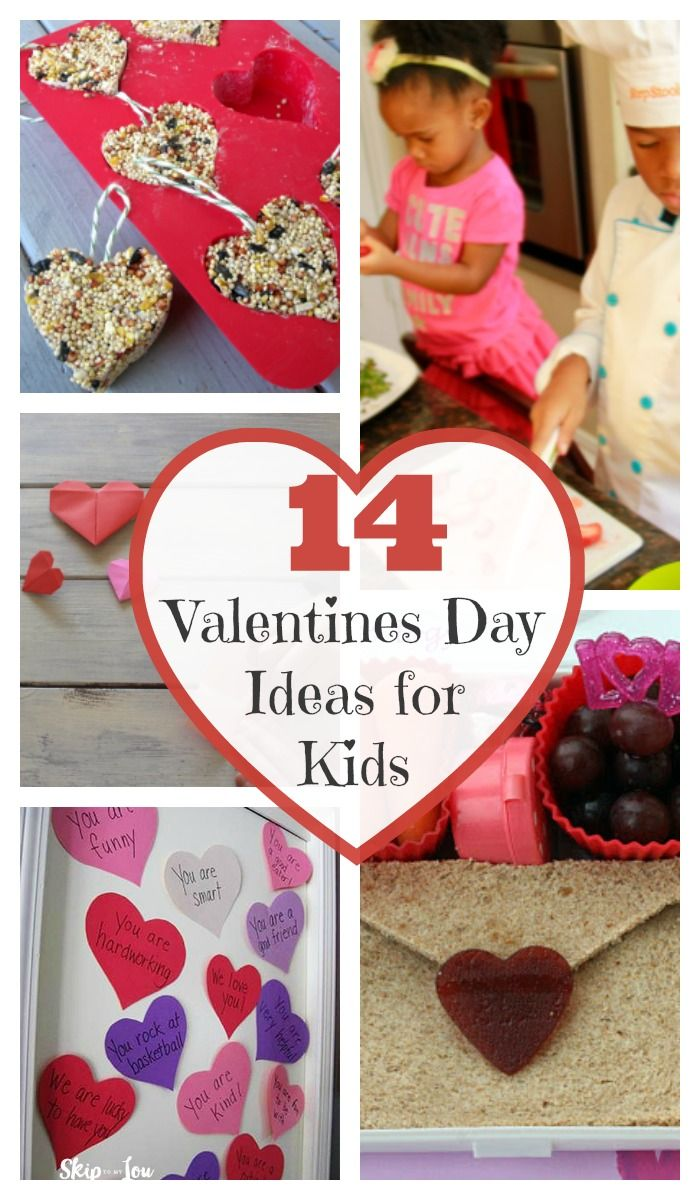 VALENTINE'S DAY - 14 Fun Ideas for Valentine's Day with Kids. Enjoy 14 fun ideas for spending your Valentine's Day with your kids to let them know how much you care for, love, and appreciate them. http://www.superhealthykids.com/14-fun-ideas-valentines-day-kids/