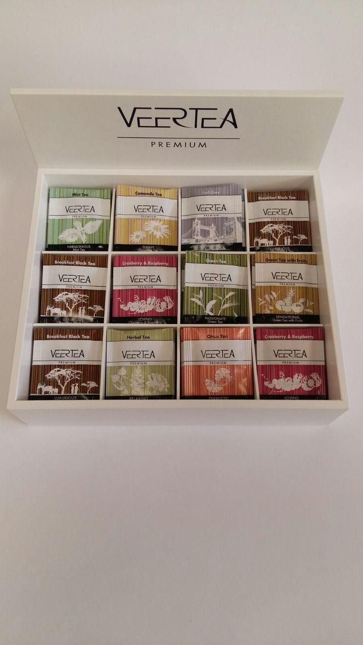 Wooden tea box for hotels and restaurants