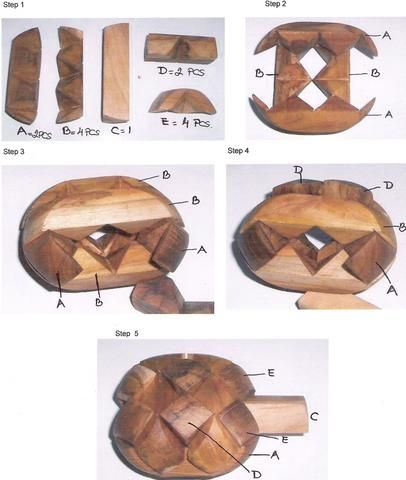 wooden puzzles 3D brain teasers metal and jigsaw puzzles