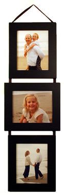 5x7 Three Opening Collage Picture Frame Set PLP - Clearance - Three Frames on Ribbon