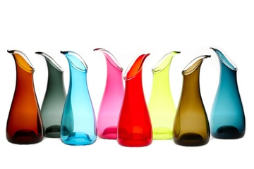Reactor Carafe by Orbix Hot Glass