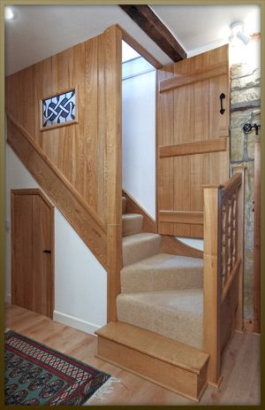 Stair Case On Staircases Wainscot Interiors Period Joiners