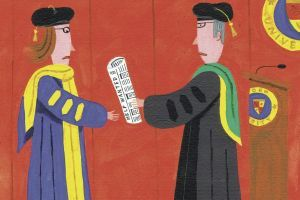 Who Prepares Humanities Ph.D.'s for a Nonacademic Search? 1