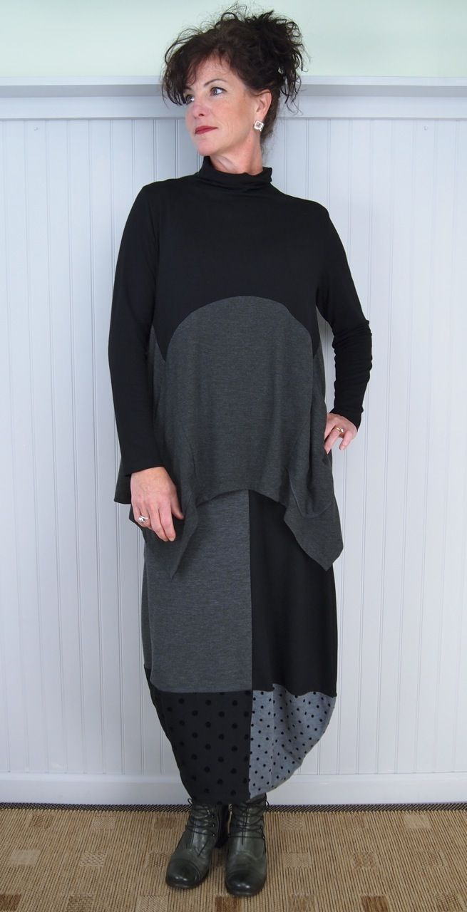 Alembika Suduku Skirt and Peacock Top with Victoria Boot
