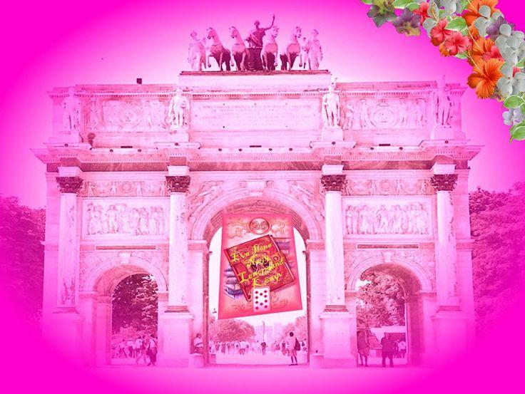 Paris Arc de Triomphe * Budapest-paris aerplane * Hungarian Sibyls in Paris, remembering mlle Lenormand, esoteric Tour * www.lenormand.hu