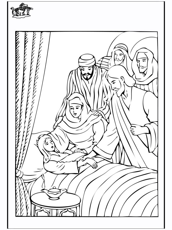 coloring pages healings of jesus - photo#20