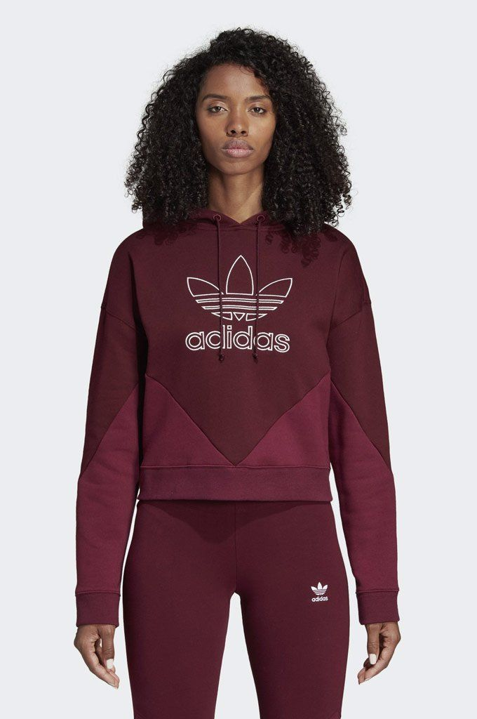 026bd7e0 #Adidas #CLRDO #Womens #Hoodie - Borrowing design cues from the famed '