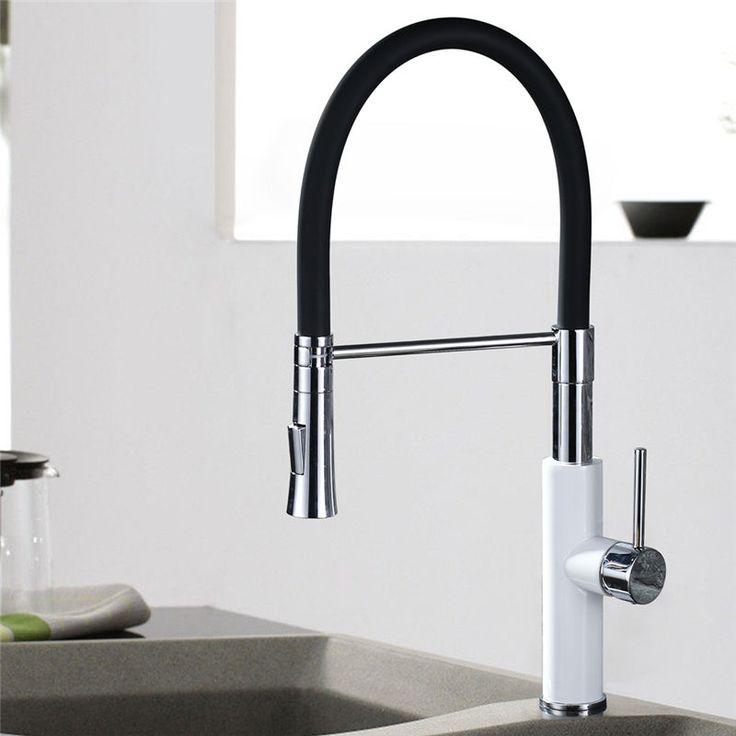 Ausziehbar Armatur Küchenarmatur Wasserhahn Waschtisch Spültisch Mischbatterie