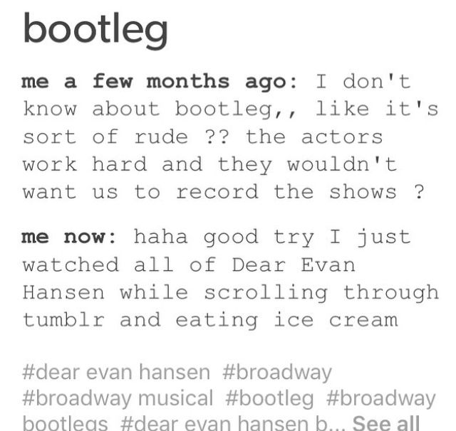 I know they are bad    but I REALLY wanted to see Ben Platt in DEH