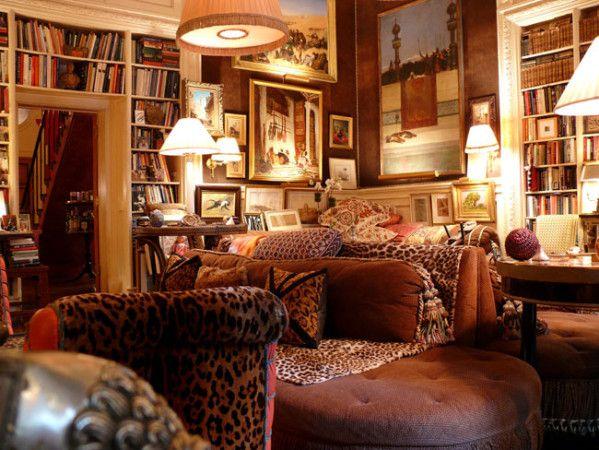Un appartement de collectionneur new york tapis turcs - Tapis deco new york ...