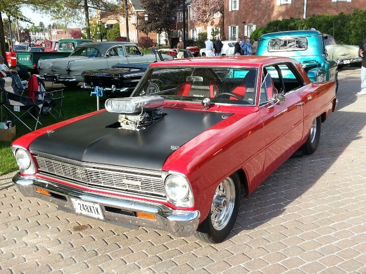 1966 pro street nova