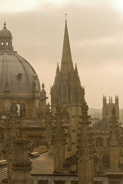 Oxford, City of Dreaming Spires, home of the oldest university in the English-speaking world