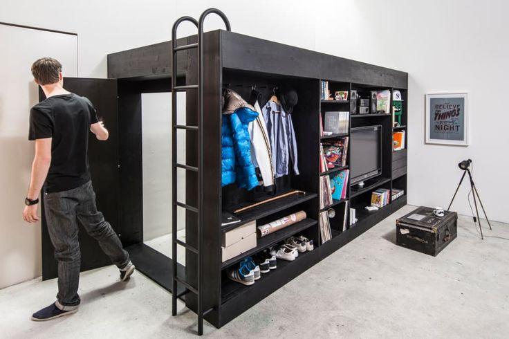 공간을 구석구석 활용하는 옷 수납 아이디어 베스트 13! (출처 E.Park)