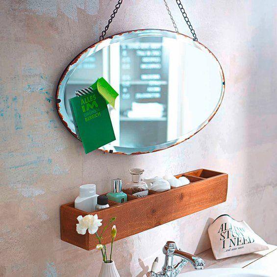Spiegel Antik Finish 35 cm x 65 cm