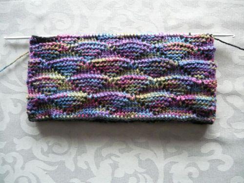 No, that's (Tunisian) Crochet…athough it looks like...