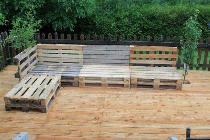 50 Coole Modelle Sofa Aus Europaletten Archzine Net Gartenmobel Design Palettenmobel Im Freien Paletten Garten