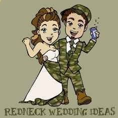 Are you planning a redneck wedding? Do you need some unique and fun redneck wedding ideas? Too funny!