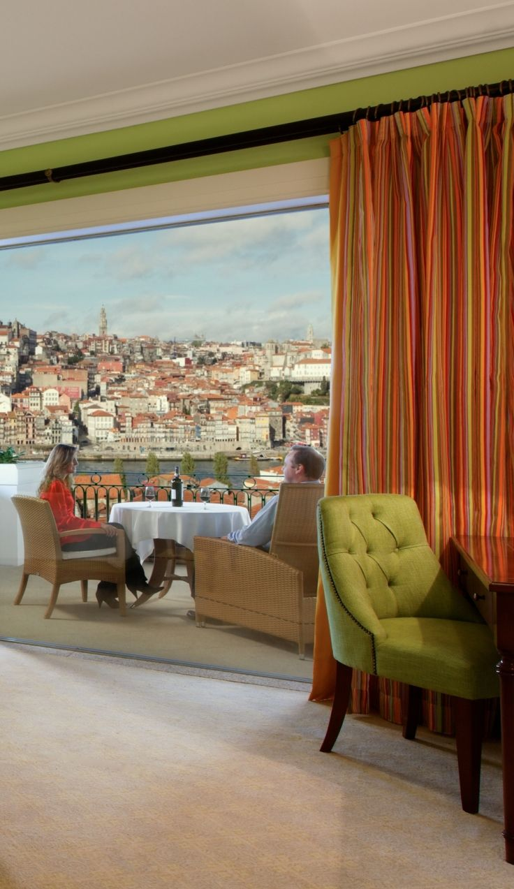 Don't miss this panoramic view of Porto and Douro River. #Porto #Portugal #Europe #Portoholidays