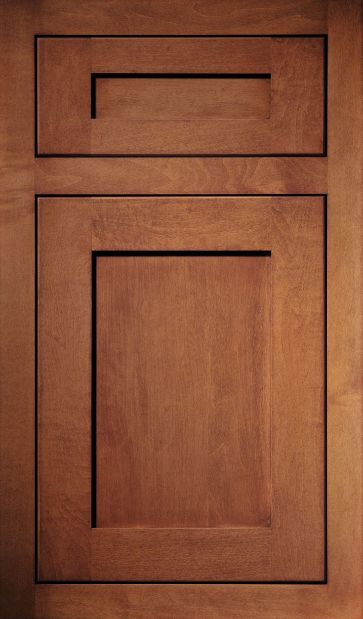 31 best kitchen cabinet features images on pinterest kitchen a maple door done in the quaker door style and finished in nutmeg find this pin and more on kitchen cabinet