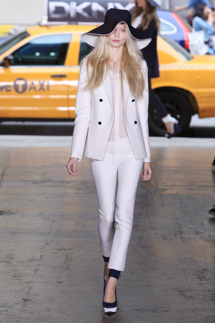 White on white by DKNY.