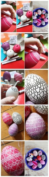 Cool Easter Eggs - Favorite Holiday! Love Easter time! Family and friends time! #easter #bunny #moments