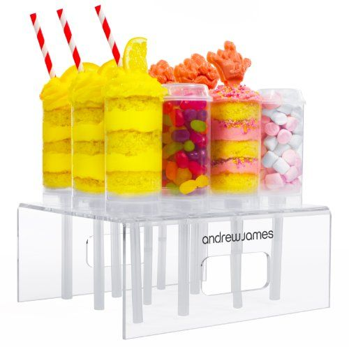 here you can buye the forms : Andrew James - 12-Teiliges Push Up Pops Set - Treat Pops - Push Up Cake Pops - Inklusive Stabilem Präsentier-Ständer - Ideal Für Eiscreme Und Kuchen - 2 Jahre Garantie: Amazon.de: Küche & Haushalt