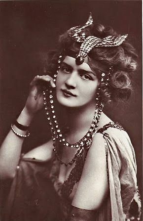 Creative Souls: Lily Elsie, le Belle Epoque Beauty no.3 in my series Beauties of le Belle Epoque