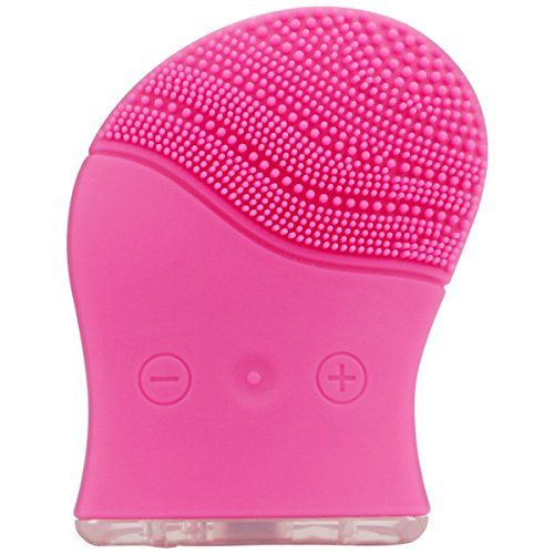 2 in 1 Facial Cleansing Brush and Face Massager,Medical Grade Silicone Facial Scrubber Deep Cleansing dirt and Exfoliating by Dr.HeiZ(Rose Red). For product & price info go to:  https://beautyworld.today/products/2-in-1-facial-cleansing-brush-and-face-massagermedical-grade-silicone-facial-scrubber-deep-cleansing-dirt-and-exfoliating-by-dr-heizrose-red/