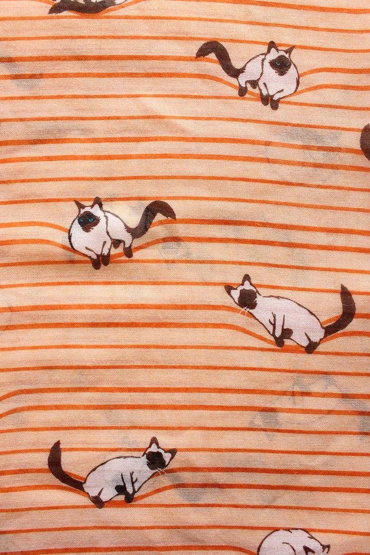 Printed Village | Cat Scarf