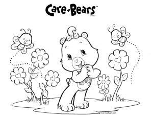 desenhos dos ursinhos carinhosos para colorir1