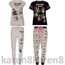 DISNEY PRINCESS or VILLAINS Ladies Pyjamas Primark T Shirt Leggings