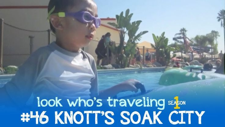 Getting wet at the Knott's Soak City water park in Buena Park.