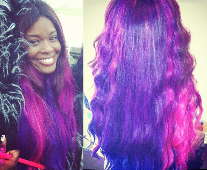 Pink And Purple Hair Styles: 17 Best Images About Chic Hair Styles On Pinterest