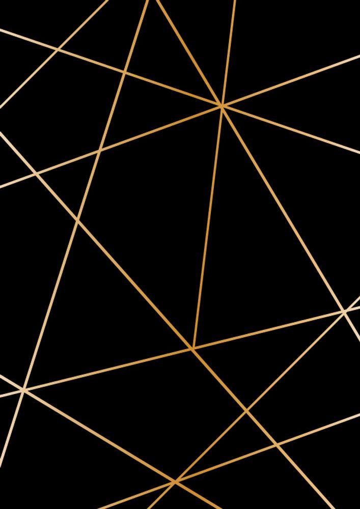 Geometric Black Gold Rectangular Pillow By Boho Da C Co Small 17 X 12 Gold Geometric Wallpaper Gold And Black Wallpaper Gold Art Print