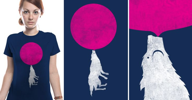 Bubble Moon.  A design for threadless+gap wornin chalenge. if you dig it please support it :).  http://beta.threadless.com/wornin/bubble-moon-6/