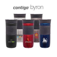 Custom Contigo Byron Tumbler #promotionalproducts #travelmug #tumbler #contigo #custom #byron