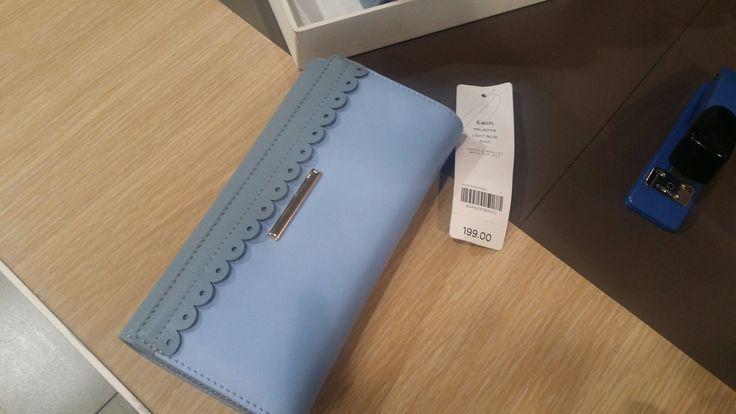 Blue wallet, Miladys <3