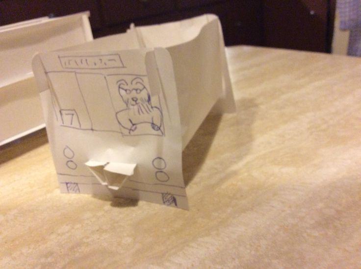 Lit de bébé - Prototype 1 en miniature Reste à trouver un matelas approprié