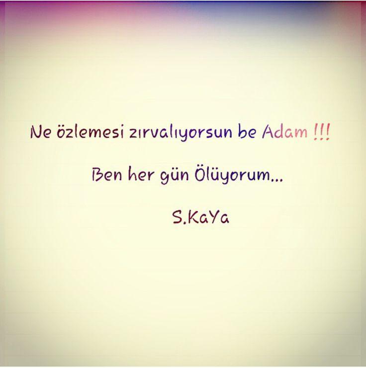 AŞKA DAİR NE VARSA !!!: BE ADAM !!!