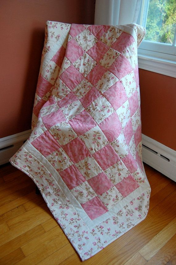 Baby Quilts For Girls | Found on etsy.com