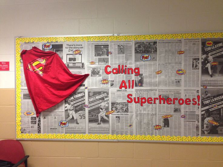 Classroom Topic Ideas ~ Superhero welcome bulletin board iteach pinterest